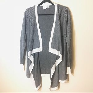RD Style Viviana Open Draped Knit Cardigan
